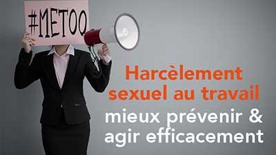 Thumbnail Harcèlement sexuel au travail : mieux prévenir et agir efficacement